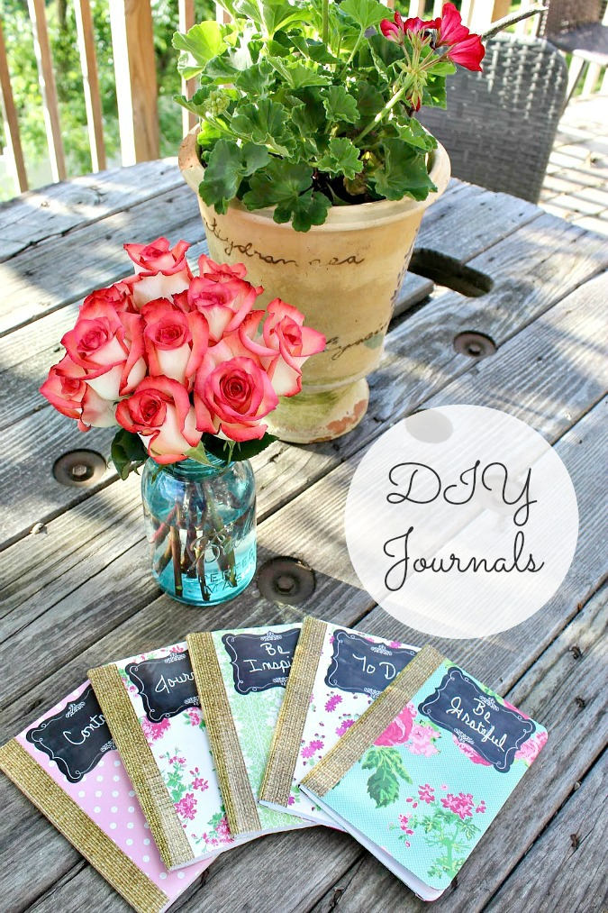 DIY Journals from Sweet Parrish Place