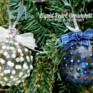 Liquid Pearl Ornaments