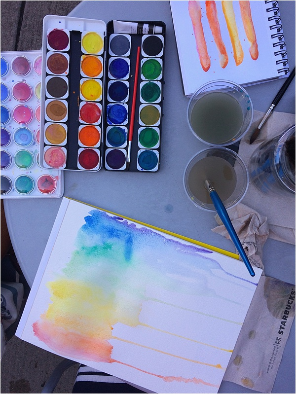 Watercolor for the Beginner from Run To Radiance