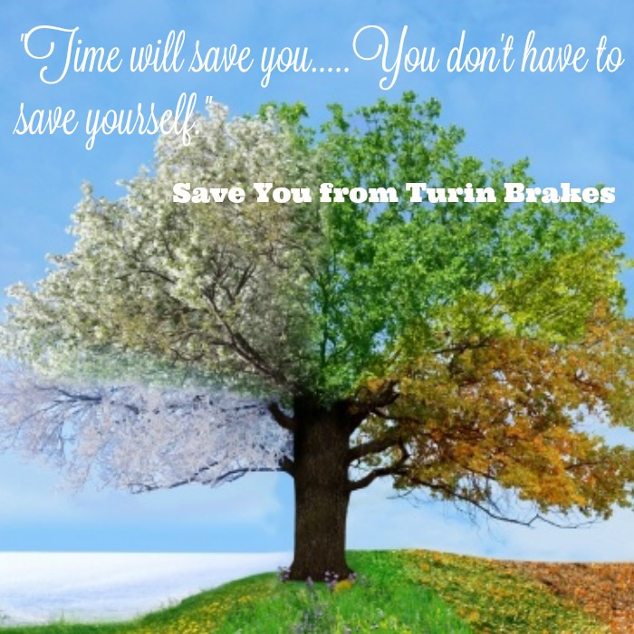 Time Will Save Me - A Message for My Readers