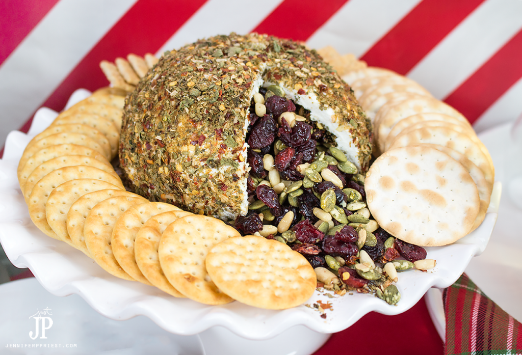 Pinata Cheese Ball Recipe from Just JP