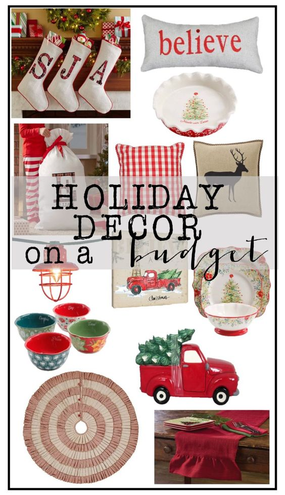 Fun, Festive Holiday Decor on a Budget from House of Hargrove