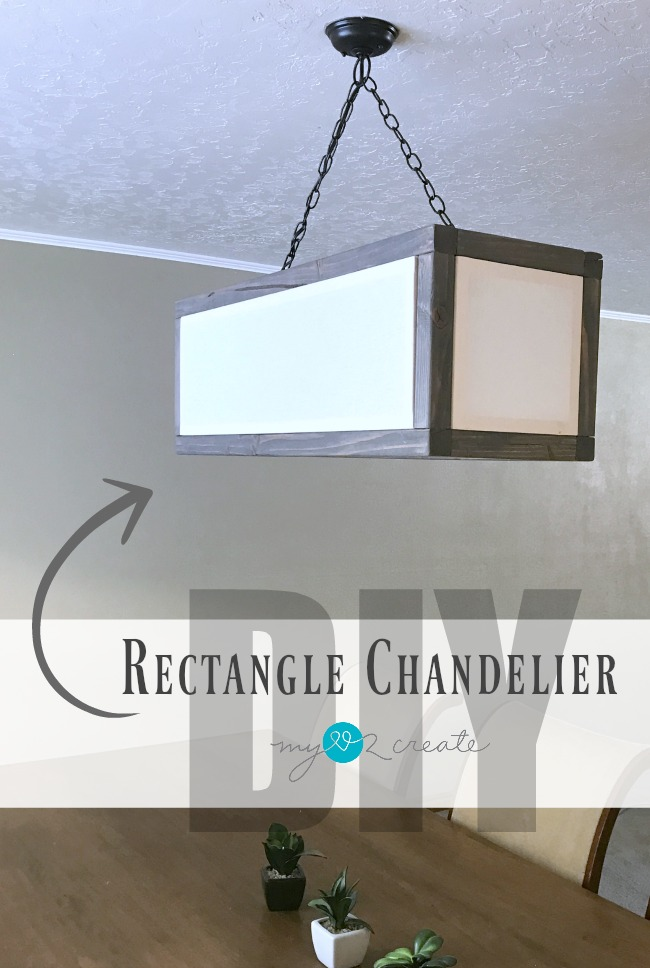 DIY Rectangle Chandelier from My Love 2 Create