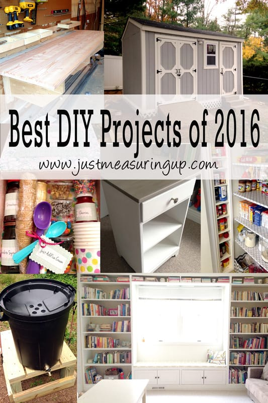 Best DIY Projects of 2016 from Just Measuring Up