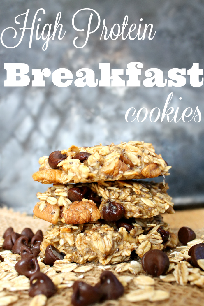 High Protein Breakfast Cookies Recipe from Mainly Homemade