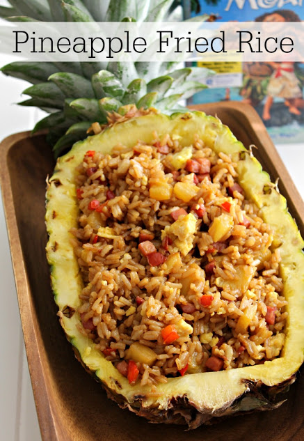Fresh Pineapple Fried Rice from Views from the 'Ville