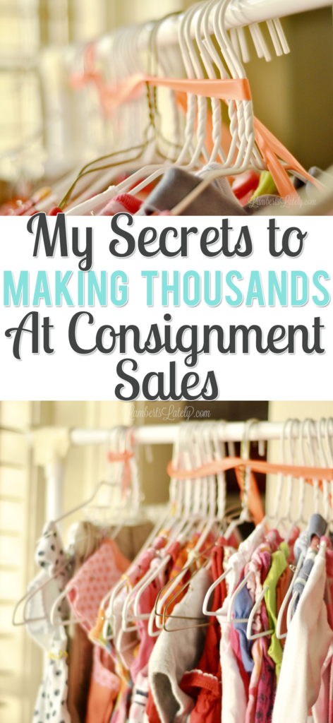 My Secrets to Making Thousands at Consignment Sales from Lamberts Lately