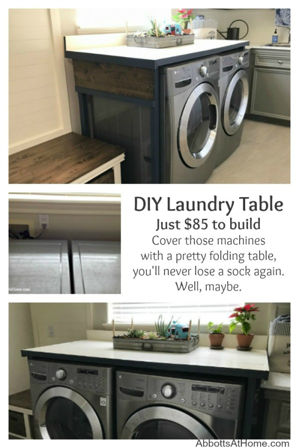 DIY Laundry Table from Abbotts at Home