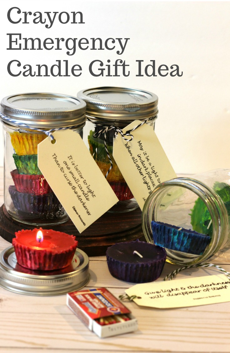 DIY Emergency Candle Gift Idea from My Husband Has Too Many Hobbie