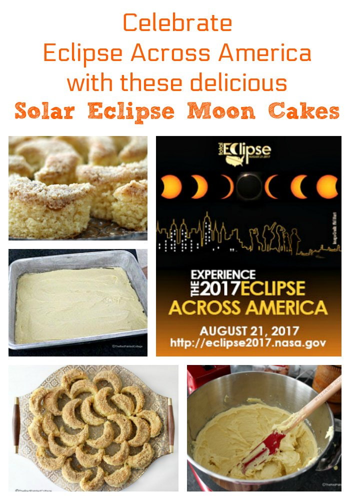 Solar Eclipse Moon Cakes from The Red Painted Cottage