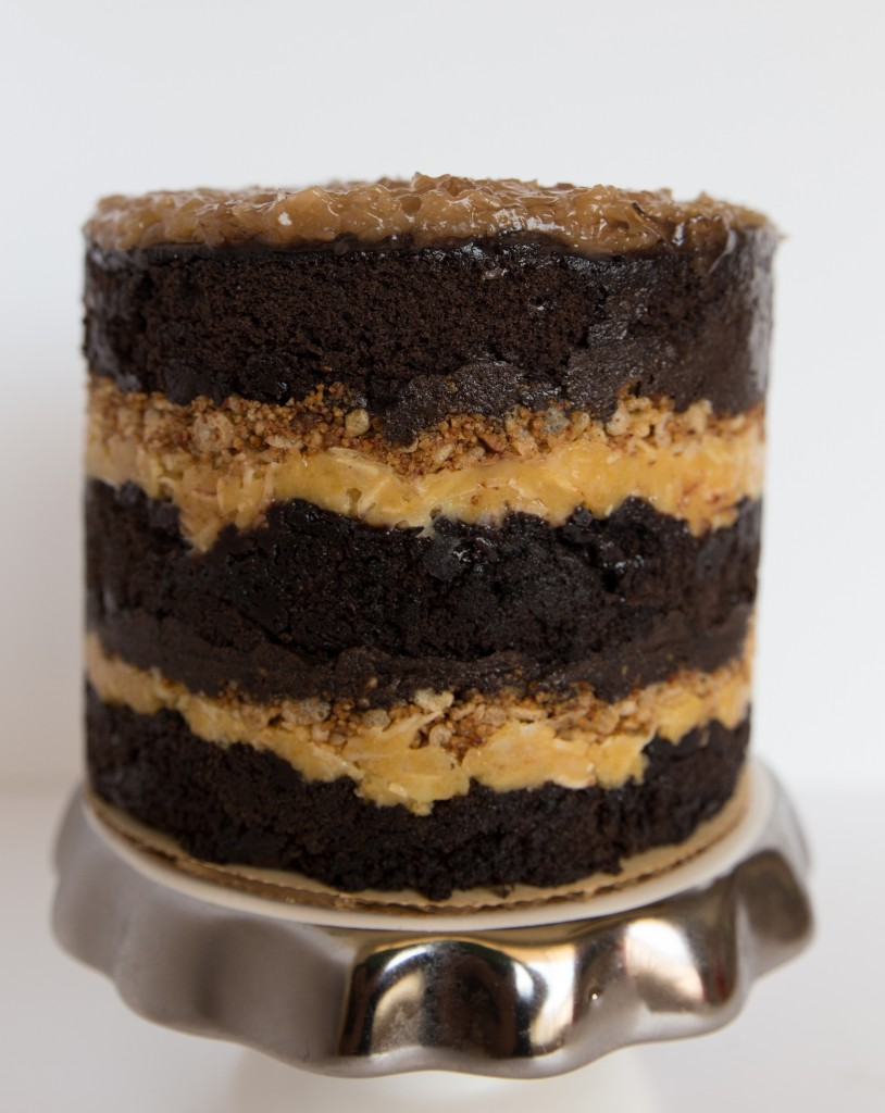 German Chocolate Cake from Say It With Cake