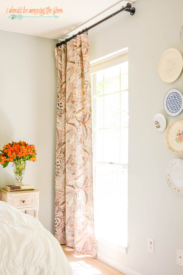 How To Make Reversible Drapes from i should be mopping the floor