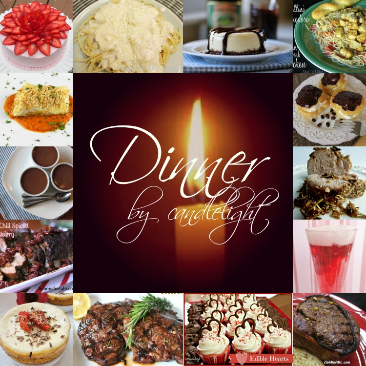 Dinner By Candlelight A Round Up Of Great Recipes For Special At